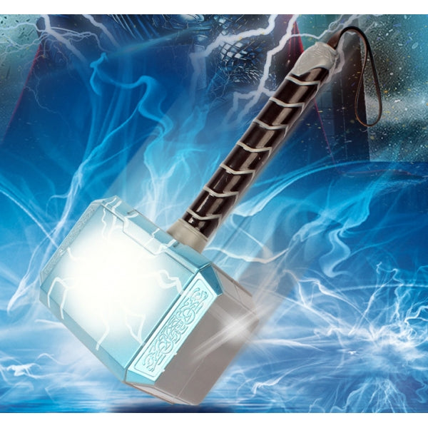 The Avengers Alliance Superhero LED Glowing Thorr Hammer Children Halloween Cosplay Weapons