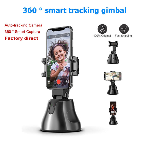 Tik Tok Love To Shoot 360 Degree Intelligent Follow-Up Gimbal Ai Composition Object Tracking Camera Face Recognition Selfie