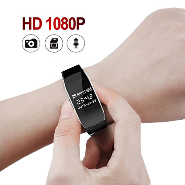 Smart Mini Watch with Camera Digital Bracelet Watch Recorder Mini Camera Video Recording AVI Fashion Recorder D6/D5