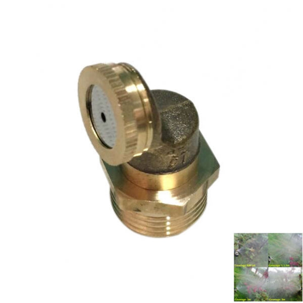 M14 x 1.5 Single Hole Brass Agricultural Spray Nozzle Garden Sprinklers