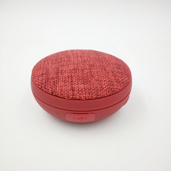 Wireless Bluetooth Speaker Small Volume Big Sound Cloth Sport Speaker Red