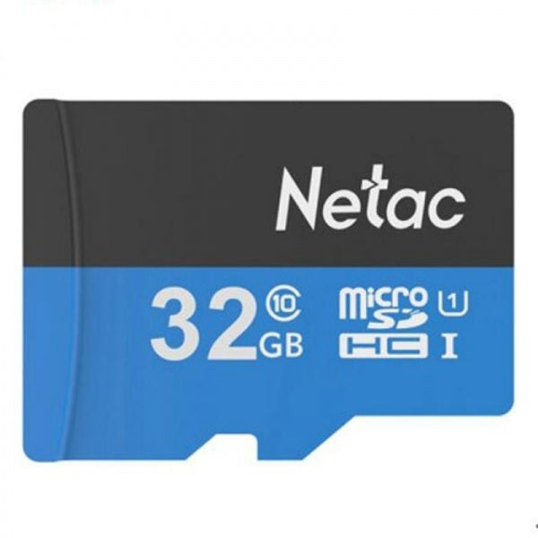 Netac P500 32GB Class 10 High Speed Micro SD Memory Card