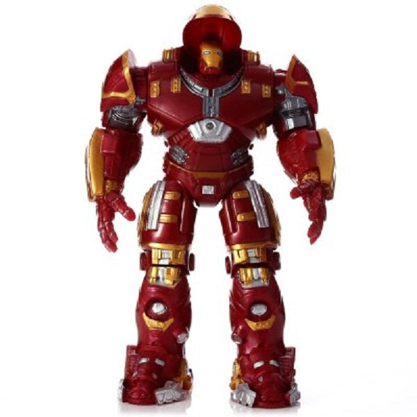 PVC Movie Action Figure Movable Joint Cartoon Decor with Chest Light