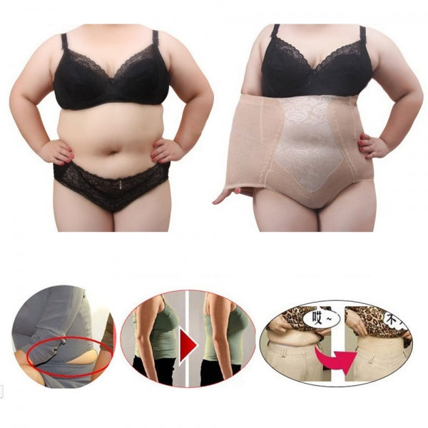 Woman Functional Shapewear Plus Size Hi-Waist Shaping Pants - 5XL