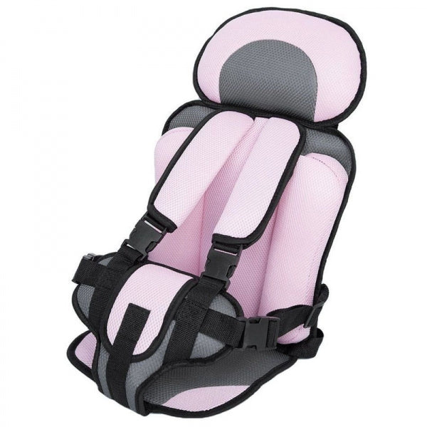 Portable Thickened Baby Toddler Child Safety travel Car Seat Fit Age 0 - 5 Years Old Pink S