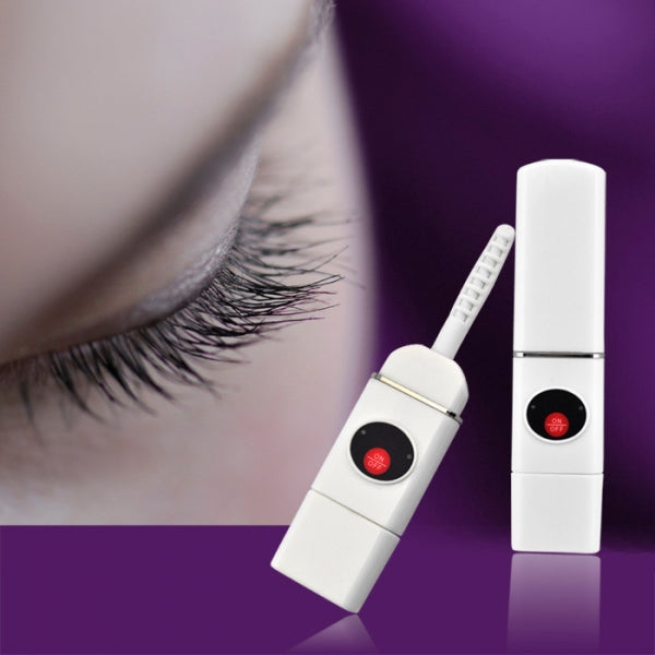 Portable USB Charging Electric Eyelash Curler Eyelash Curling Device White