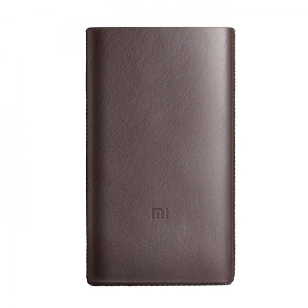 Protective Silicone Case Cover for Xiaomi 10000mAh Pro Power Bank Brown