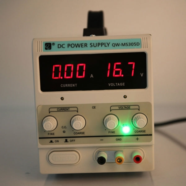 QW-MS305D 30V 5A Adjustable DC Stabilizer Power Supply US Plug White