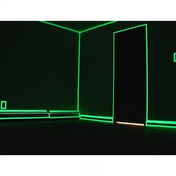 1.5cm*5m Luminous Tape Adhesive Strip for Stage Home Decor - Green