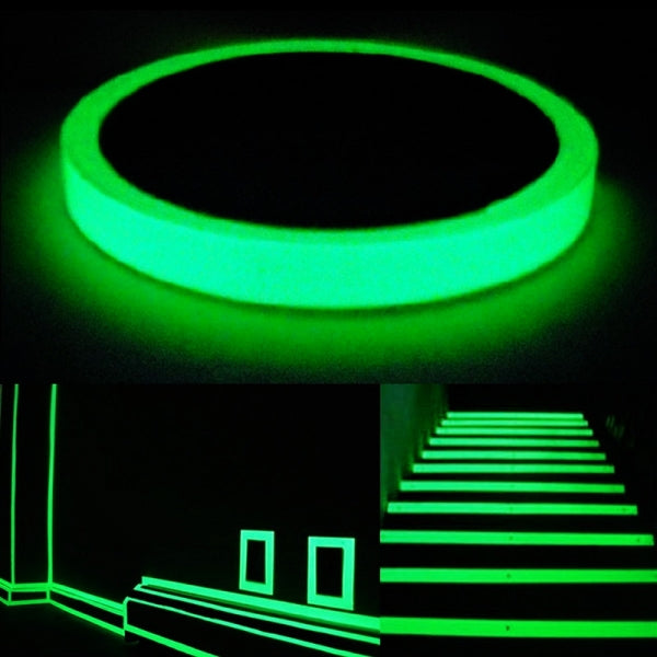 3cm*5m Luminous Tape Adhesive Strip for Stage Home Decor - Green