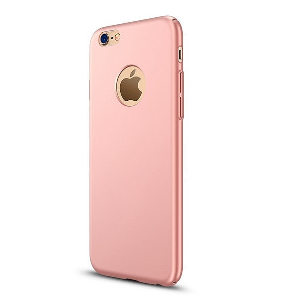 Smooth Ultra Slim Frosted Hard Back Protective Case for iPhone7 Rose Gold