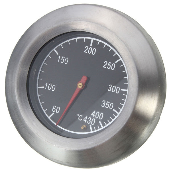 60℃- 430℃ Stainless Steel BBQ Grill Cooking Pit Smoker Thermometer