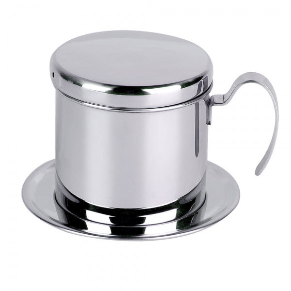 Stainless Steel Vietnam Coffee Pour Over Dripper Maker Filter Single Cup Brewer Press Percolator Home Outdoor Use
