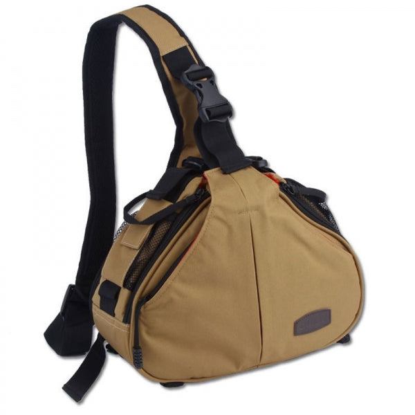 Caden K1 Triangle Shoulder Camera Bag Standard - Khaki