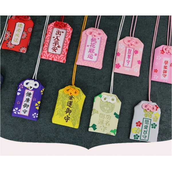 Success Famous Luck Omamori Fortune Success Work Romantic Love Safety Wealthy Phone Pendant BodhidharmaKey Holder Girlfriend Kid Gift Present