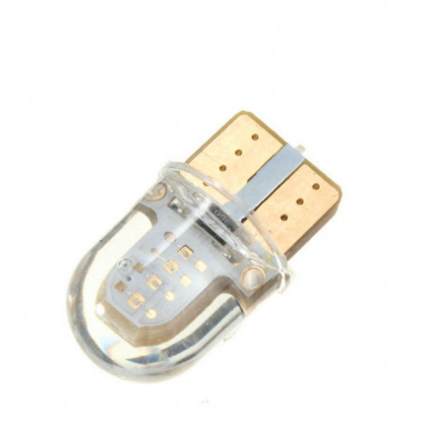 T10 W5W 8-COB SMD Silica Car License Plate Lamp Ice Blue Light