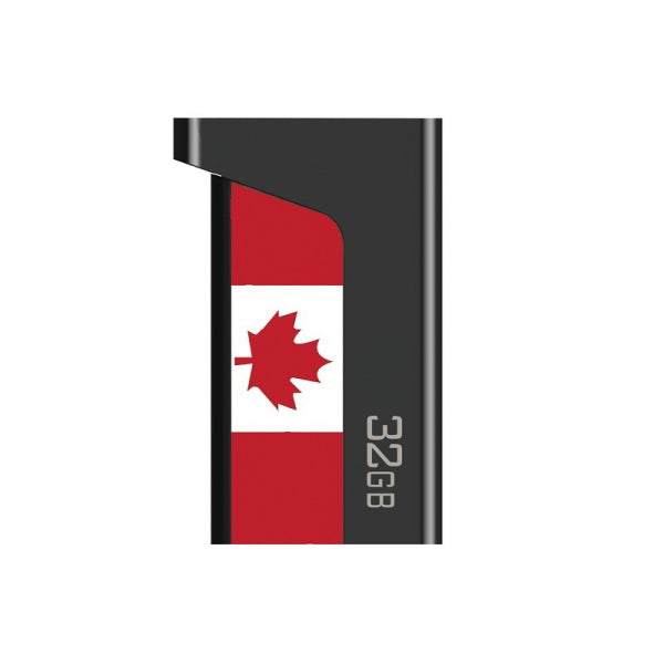 TLIFE 2-in-1 32GB OTG USB 3.0 Flash Drive Canada Flag Pattern