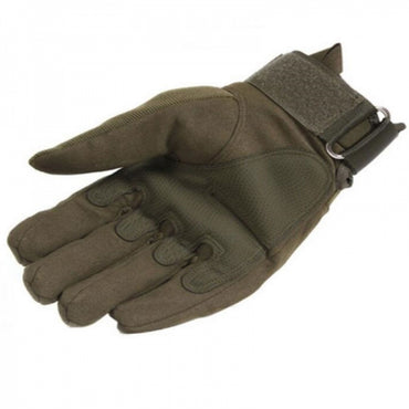 Tactical Military Outdoor Motorcycle Bicycle Airsoft Shooting Hunting Full Finger Gloves Army Green XL