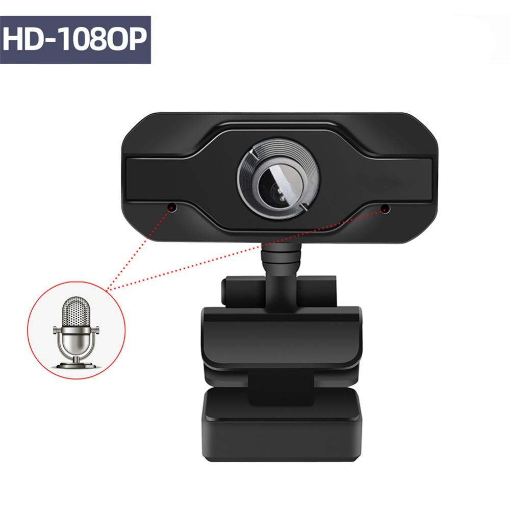 USB Web Camera 1080P HD 5MP Webcams Built-In Sound-absorbing Microphone 1920 *1080 Dynamic Resolution