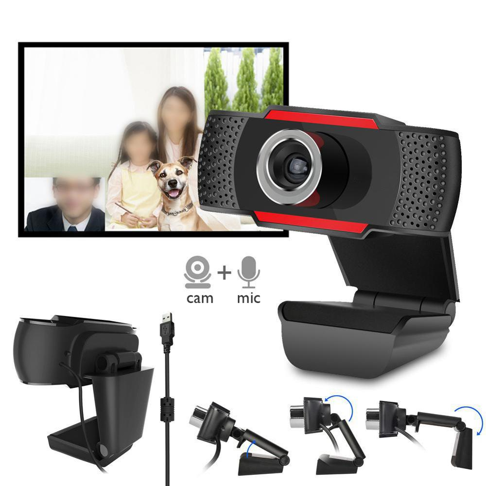 USB Web Camera 1080P 720P HD 5MP Camera Webcams Built-In Sound-absorbing Microphone