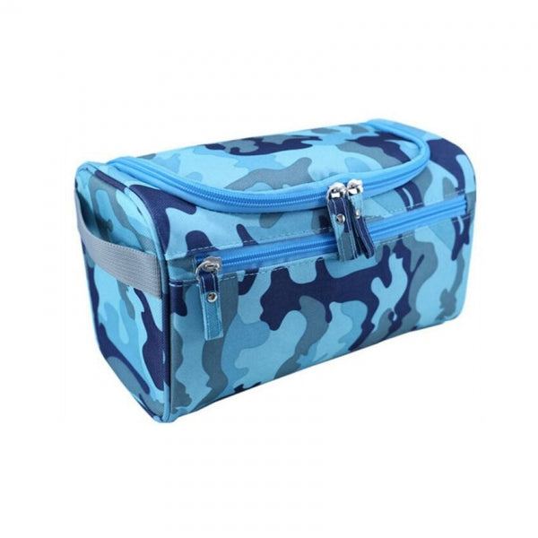 Waterproof Unisex Hanging Makeup Nylon Travel Organizer Cosmetic Bag Camouflage