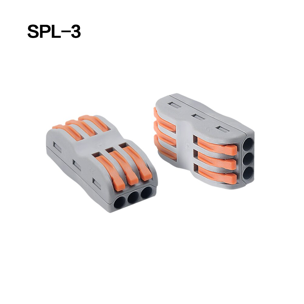 Wire Connector PCT-212 213 214 215 218 SPL-2 3 Universal Terminals 0.08-2.5mm Push-in electrical terminals for cable Connection