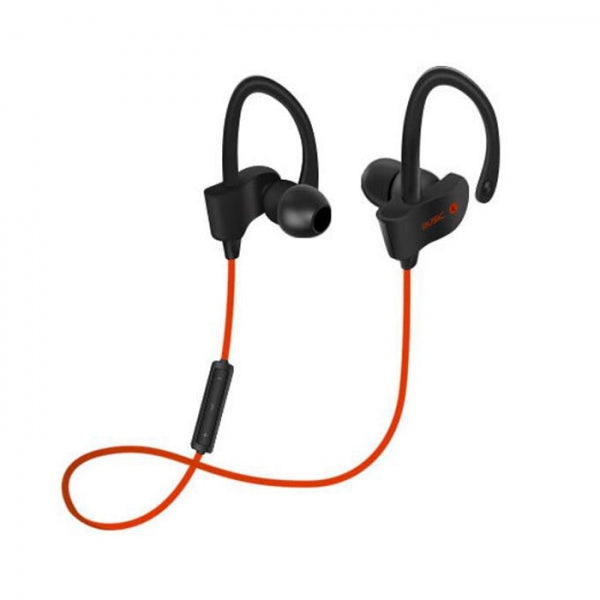 Sports Wireless Bluetooth Headset Stereo Earphones for iPhone Xiaomi iPad Red