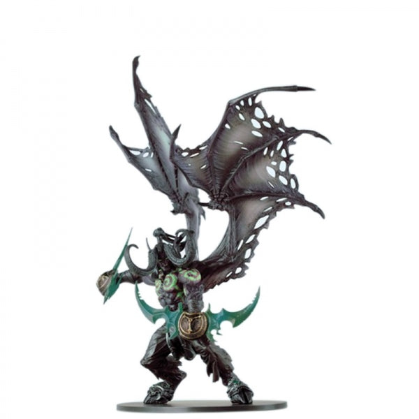 World of Warcraft Character Black Illidan Action Figure Online Role-playing Game Model Toy
