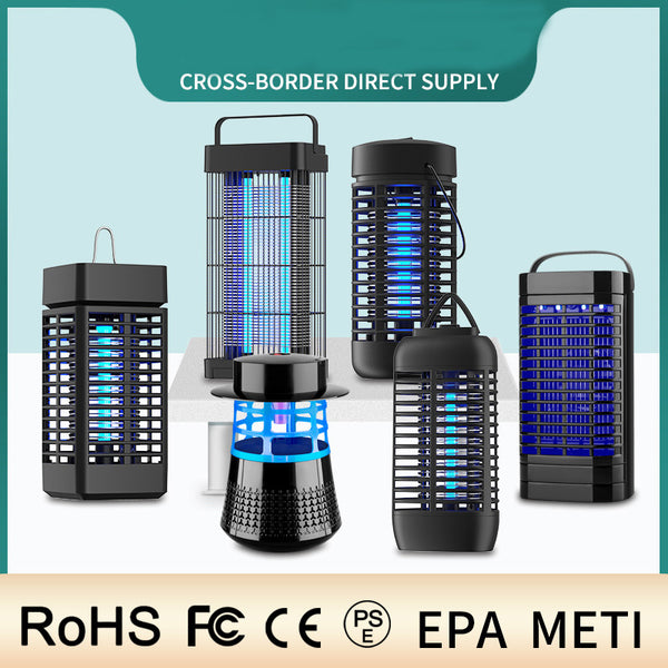 Antimosquitos Portable Electric Mosquito Killer Lamp USB Insect Killer LED Mosquito Trap Bug Zapper Repellent Lamp