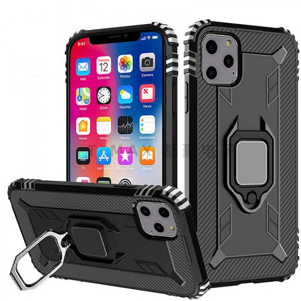 iPhone Case Drop Tested Carbon Fiber Case Ultra Slim Lightweight Scratch Resistant Lord of the Rings Compatible with Apple iPhone 11 - Black