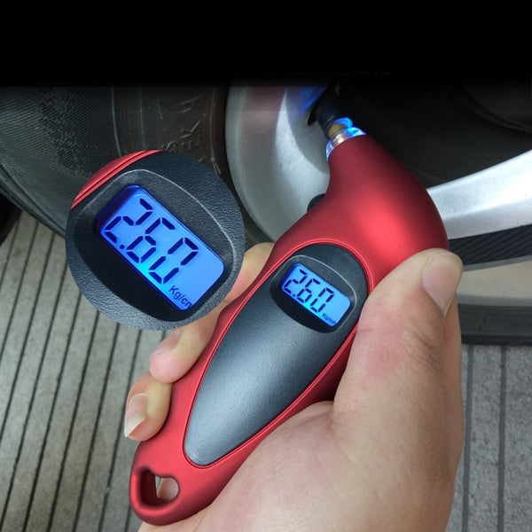 Tire Pressure Gauge 0-150 PSI Backlight High-precision Digital Tire Pressure Monitoring