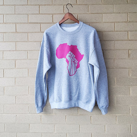 Limited Edition Breast Cancer Awareness Sweatshirt - proceeds will be donated to Touch, The Black Breast Cancer Alliance