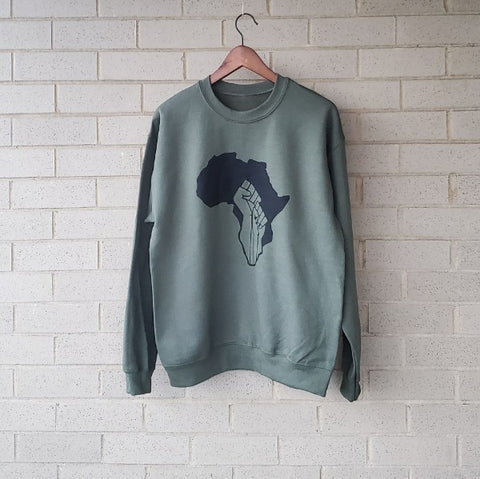 Military Green/Black Unity Sweatshirt