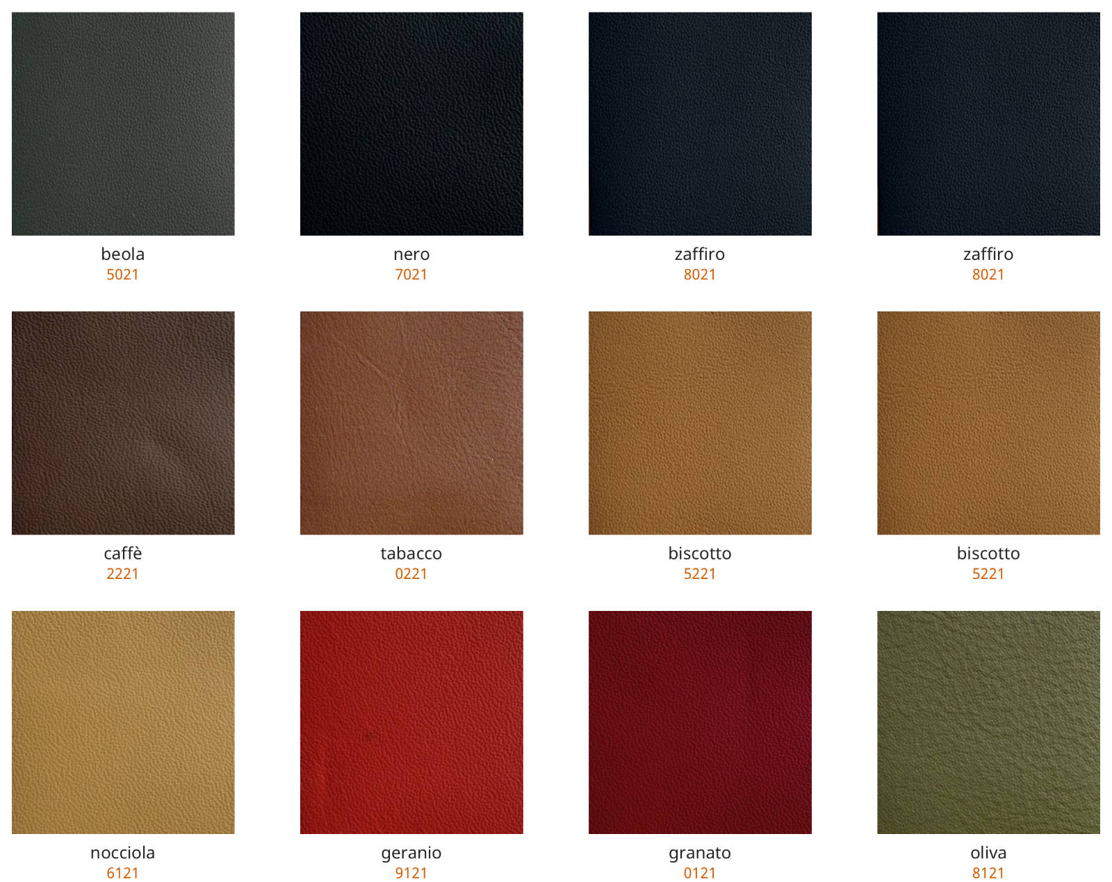Leather swatches for iPad Pro cases 2018 2020