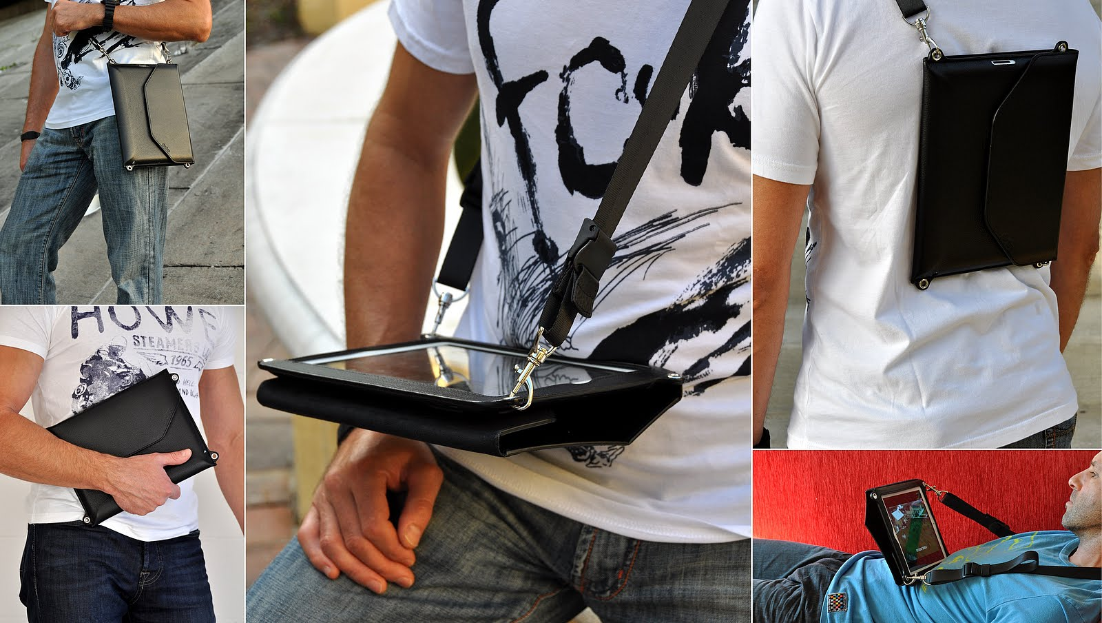 Hands Free Ipad Carrying Cases And Bags Designed To Work