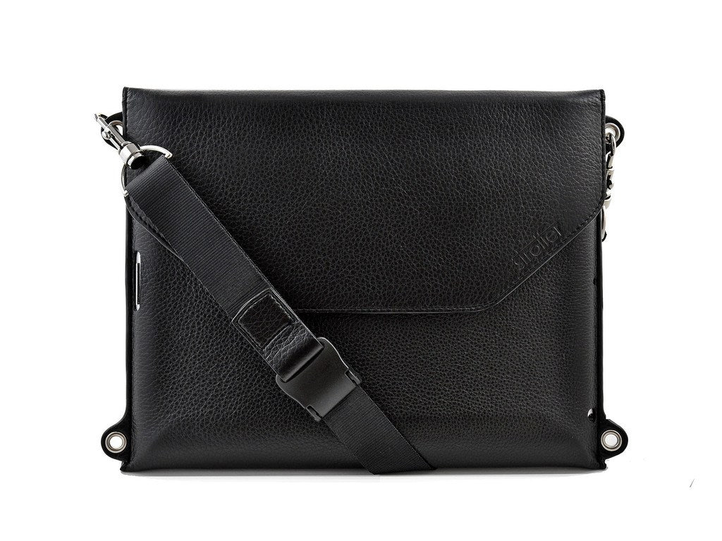 iPad carrying case with strap ACROSS from Strotter