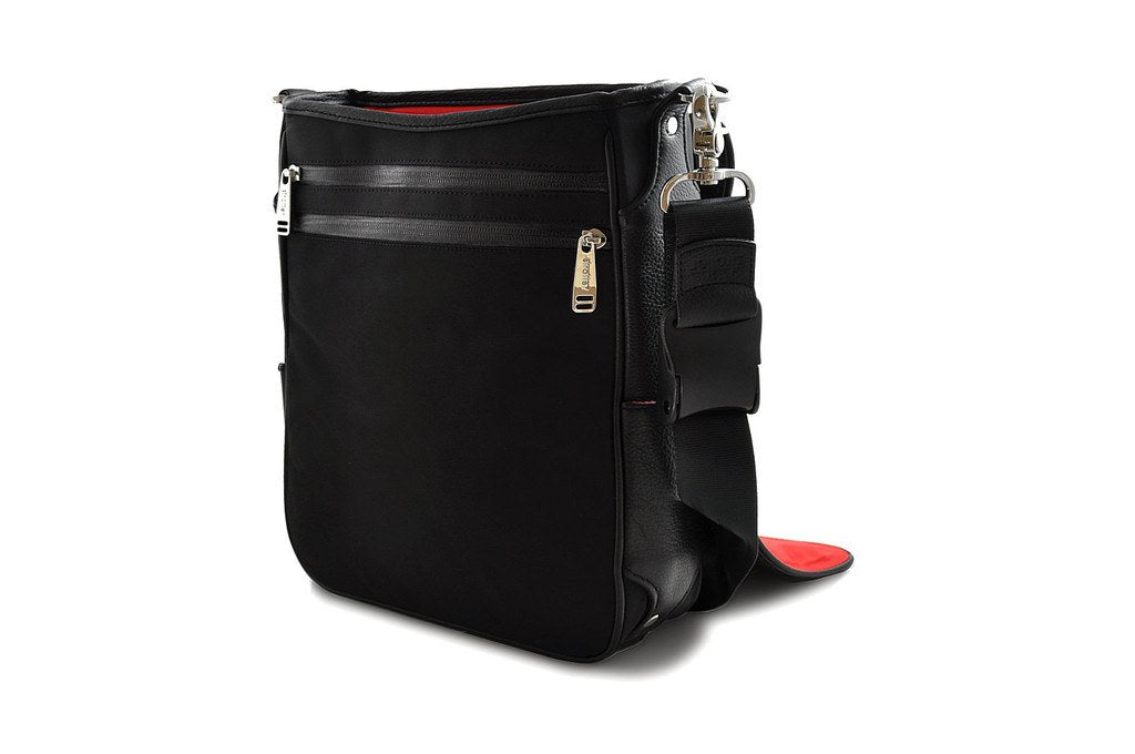 Platforma bag front wall with two pockets