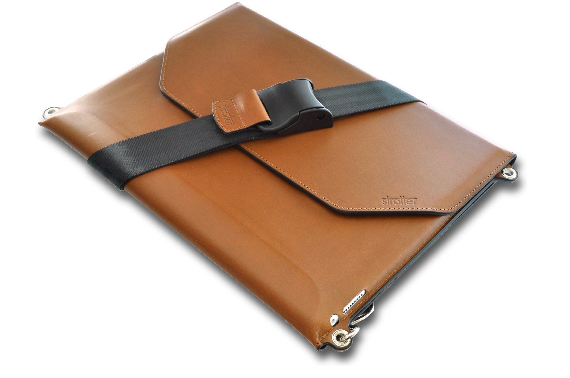 leather carrying case for ipad pro 12 9 with shoulder strap gen 1 3