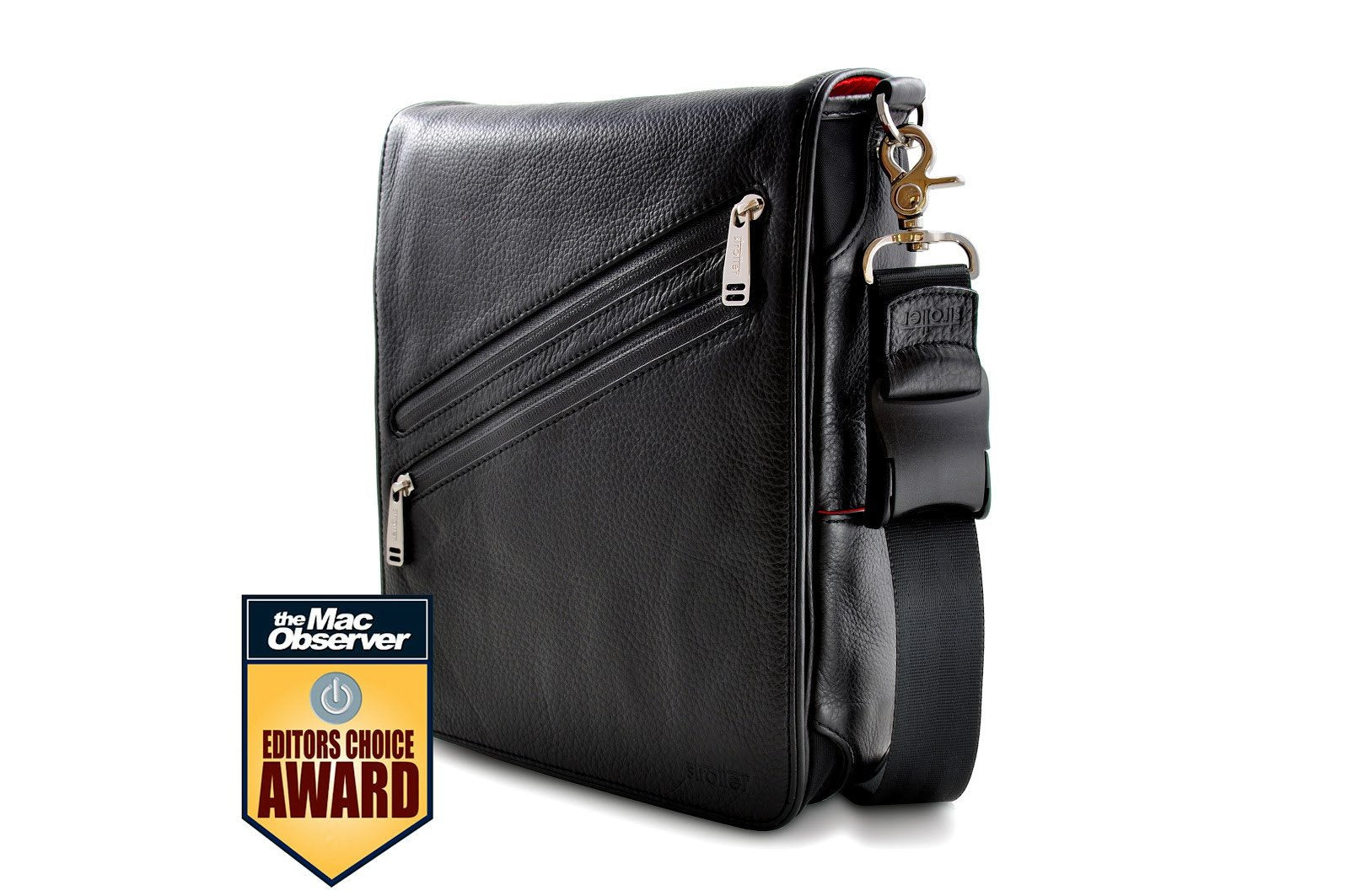 iPad leather messenger bag: award winning  Platforma from Strotter
