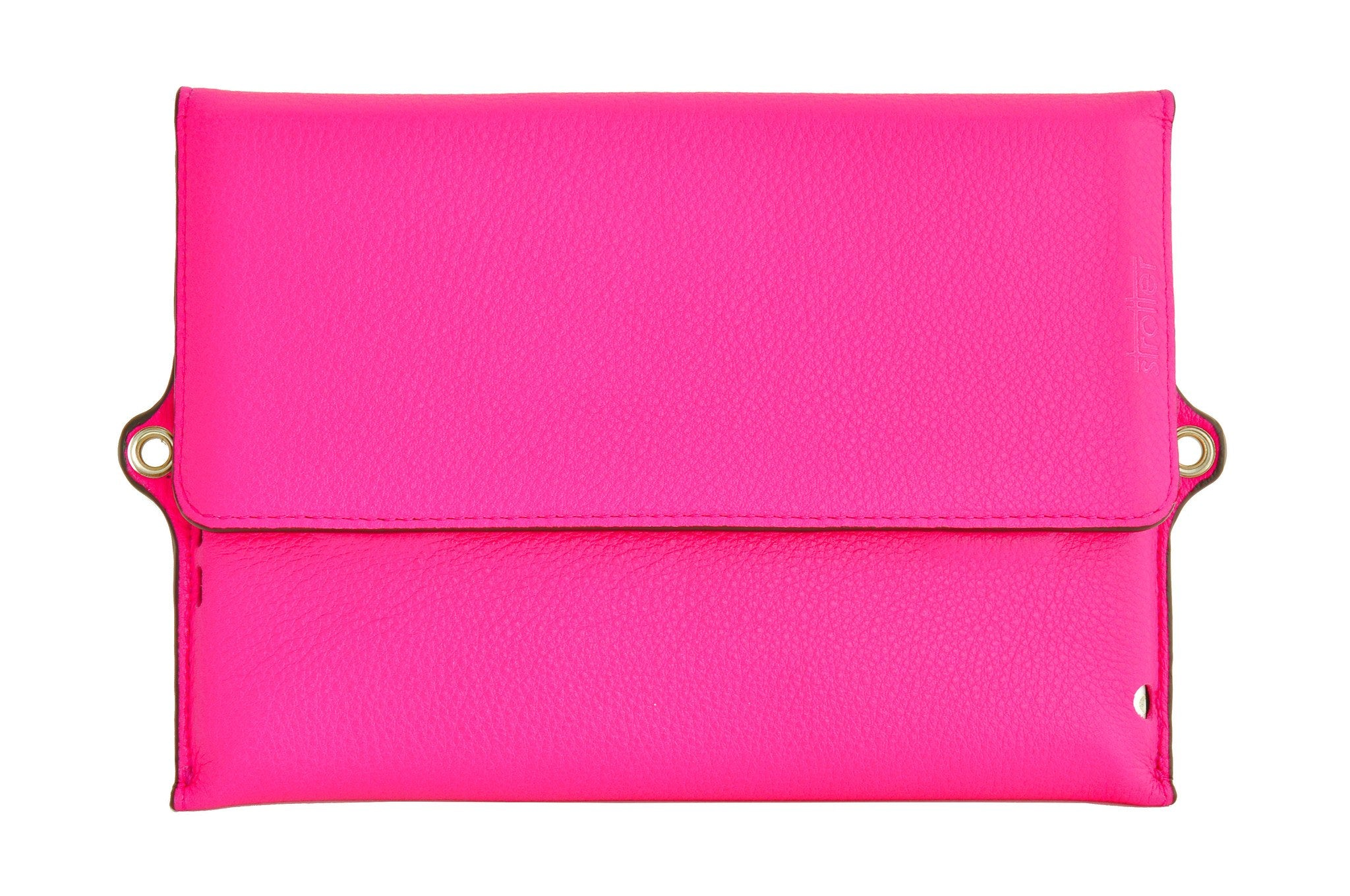 Case for iPad Mini - Across GL (genuine leather) in Super Pink.