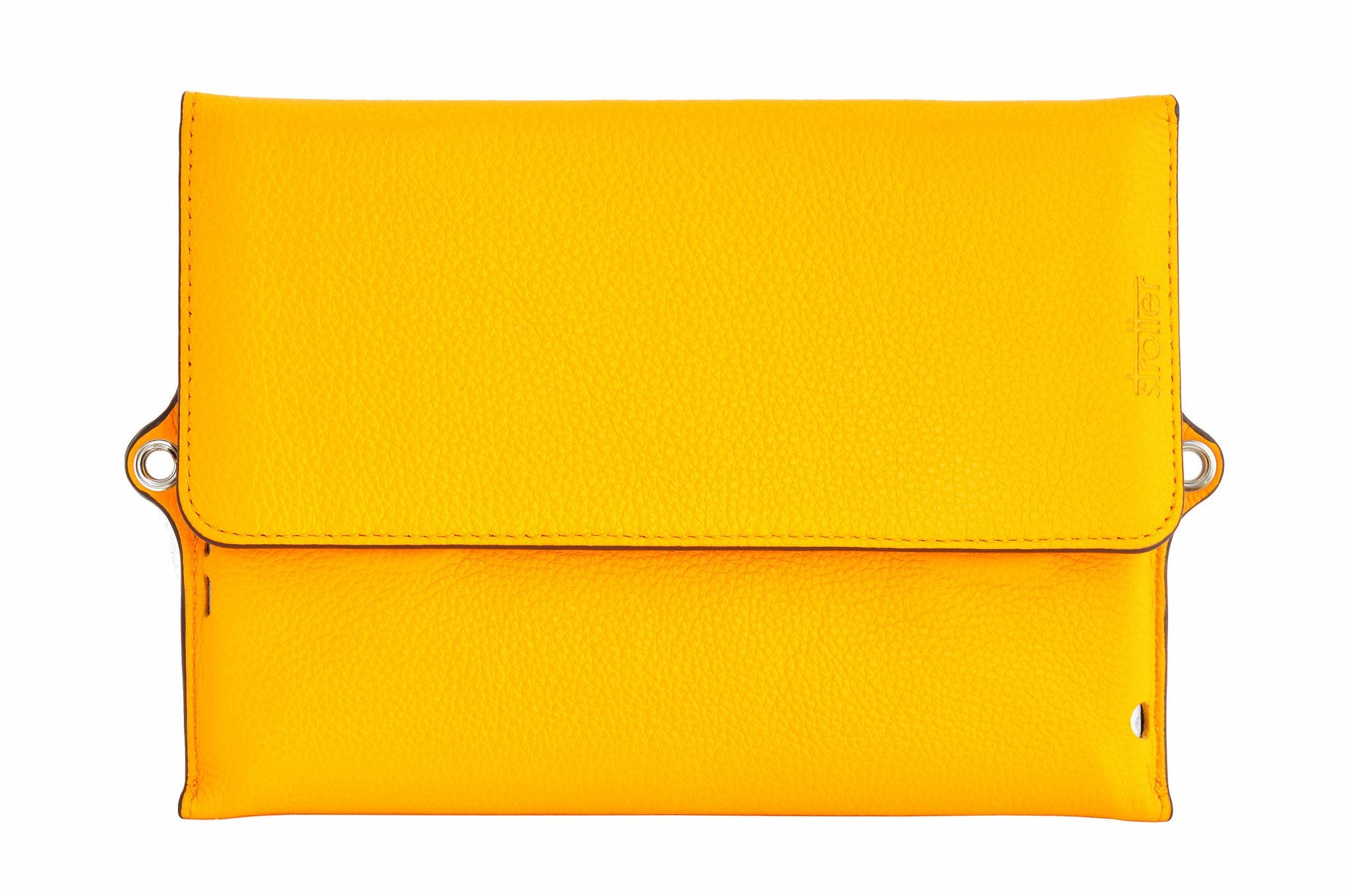 Case for iPad Mini - Across GL (genuine leather) in Sunny Yellow.