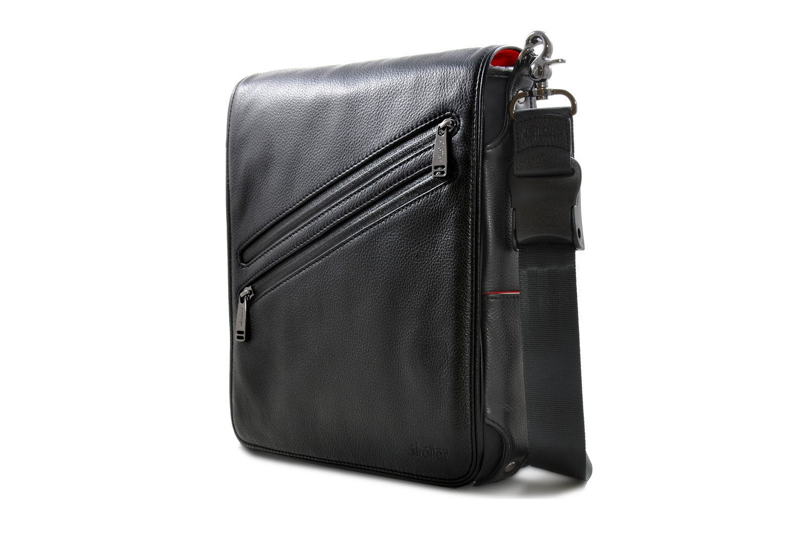 iPad leather messenger bag - Platforma G