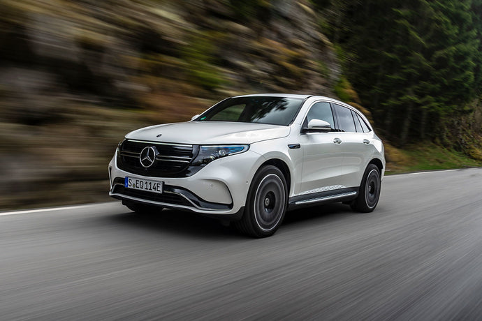 Review of the first electric Mercedes