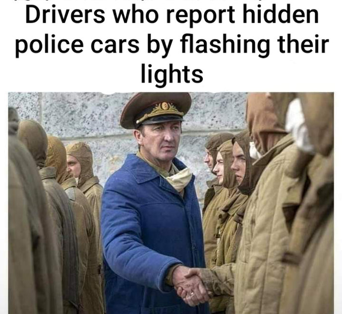 Drivers who report