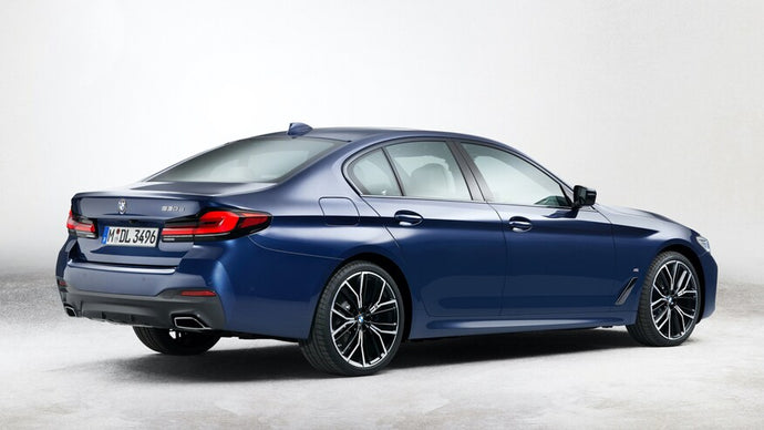 2022 BMW 5-Series Updated to Look Like Latest 3-Series