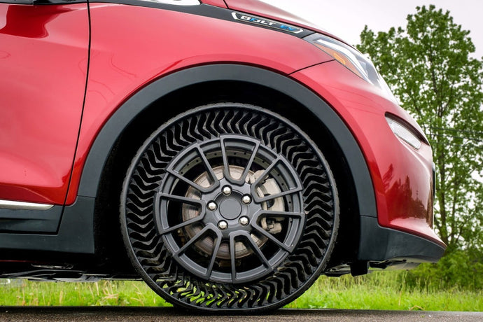 No more flats: Airless tires to passenger cars by 2024