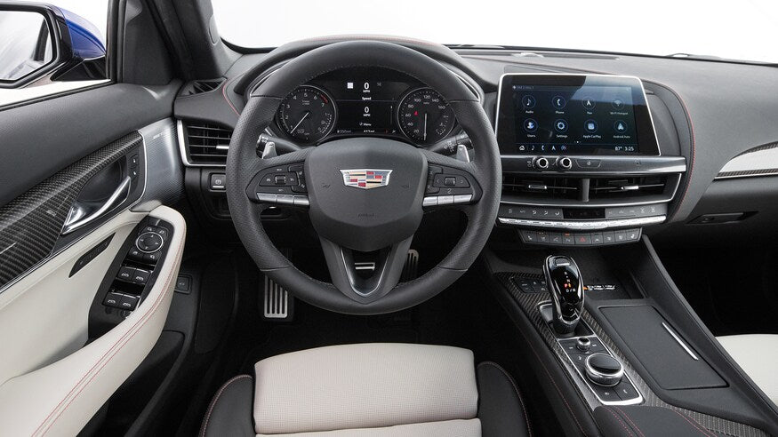 2020 Cadillac CT5 2.0T dashboard