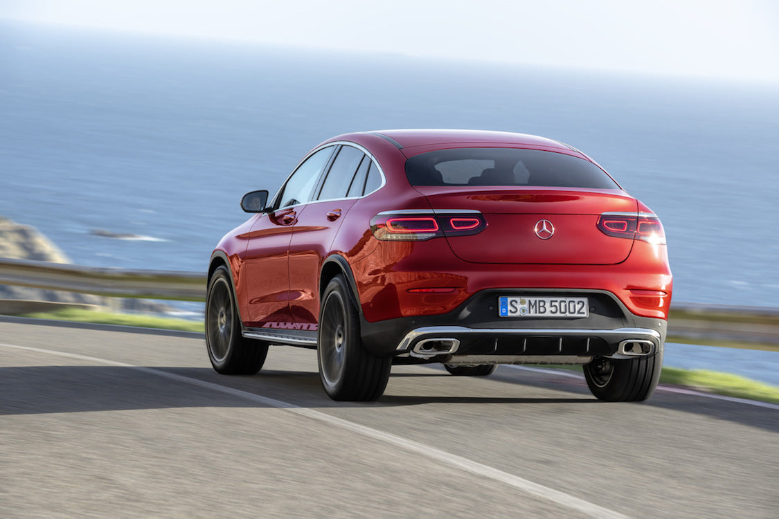 2020 Mercedes-Benz GLC Coupe Rear