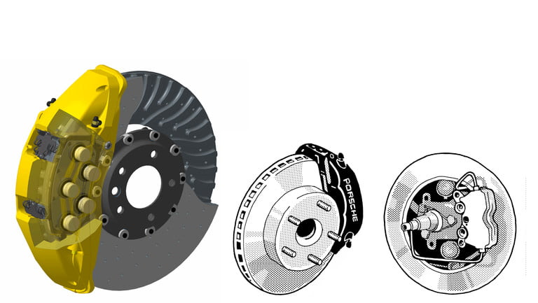 Clarksoff_ten_piston_brake_calipers_anti_lock_brakes_abs_annular_disc_brakes