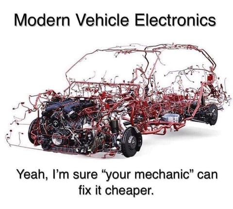 Modern vehicle electronics